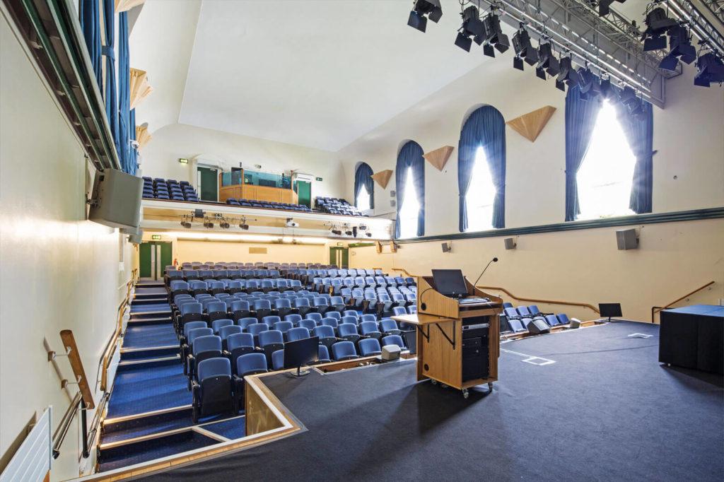 Tuke Hall Stage